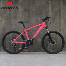 27 Inch 24 Speed Colorful Women Mountain Bike Off Road Bicycle