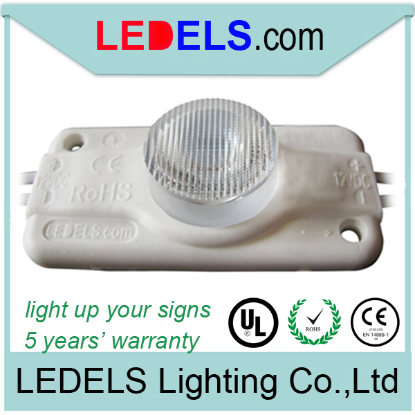 Display case led lights, 12v 2.4Watt edge emitting LED Internal illumination to box signs, C/UL approved