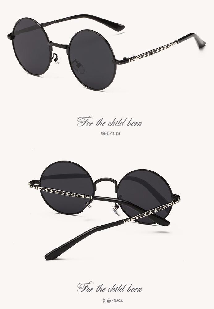d0b50d2f81 Polaroid Sunglasses Laki-laki Perempuan Anak Putaran Hippie Kacamata Alloy  Frame Pink Cermin Eyewear Anak