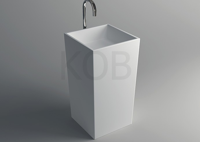 Mobili Bagno Freestanding : Ck favorevole mobili da bagno freestanding superficie solida