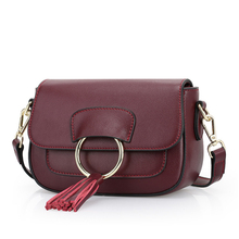 Shoulder or hand use cowhide bag women trend 2016 handbag