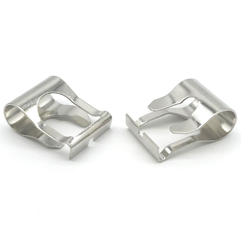 Customized Precision Sheet Metal Flat Small Stainless Steel Retaining Clip