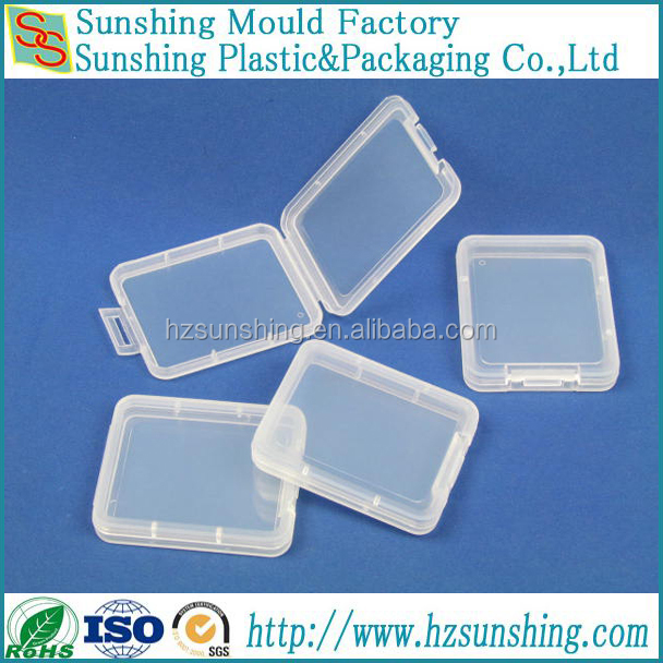 Cf Plastic Case Holder for CF Memory Card