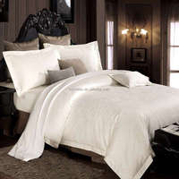 100% egyptian cotton sheet set for hotel Luxury 400t Sateen Bed Sheets