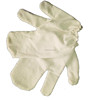 100% silk noil garshana health care massage gloves