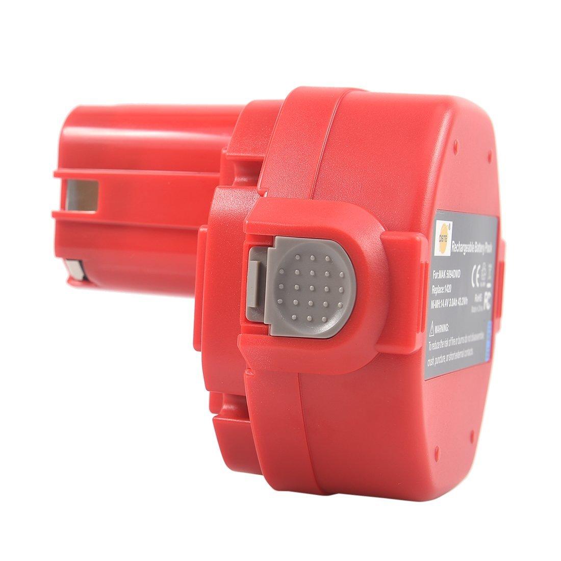DSTE Ni-MH Power Tool Battery for Makita 1420 1422 1433 1434 1435 1435F 192699-A 193158-3 192600-1