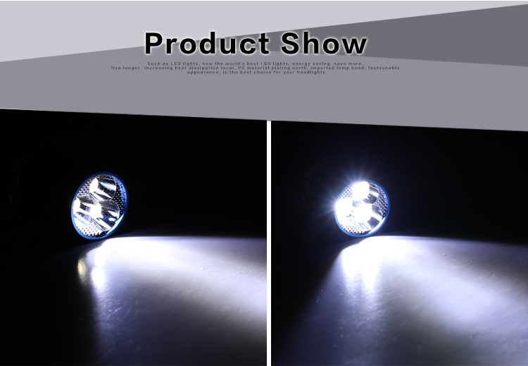 9W 12V motorcycle led headlamp bulbs