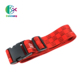 Alibaba Wholesale Custom Design Your Own Adjustable Suitcase Luggage Strap/Belt With Coded Lock