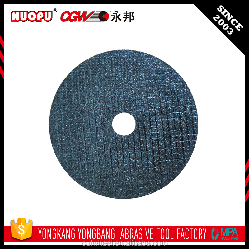 super smooth surface abrasive cutting grinding wheel en12413 for metal