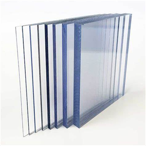 4x8ft transparent polycarbonate solid sheet for garden
