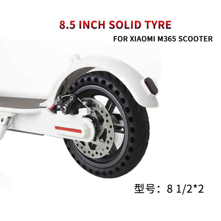 8 1/2*2  honeycomb non-peumatic solid tire/8.5 inch porous tubeless Cellular solid tyre for Xiaomi Mijia M365 Kick Scooter