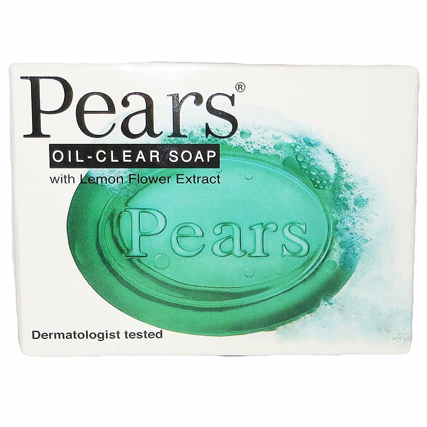 Pears Oil-clear Bar Soap, with Lemon Flower Extract, Dermatologist Tested, 3.5 Ounces (Pack of 12)
