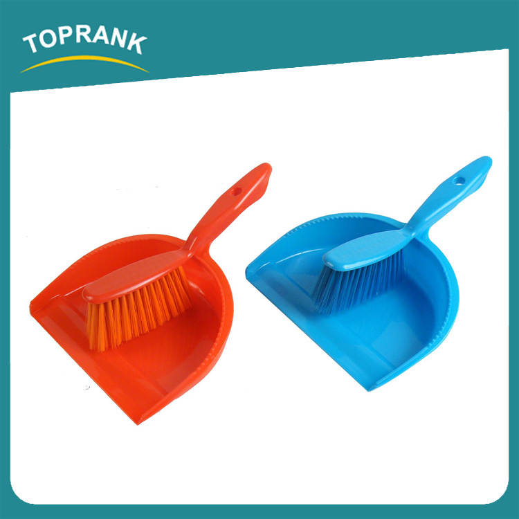 Toprank New Style Easy Cleaning Table Dustpan Brush Plastic Floor Mini Broom Brush And Dust Pan