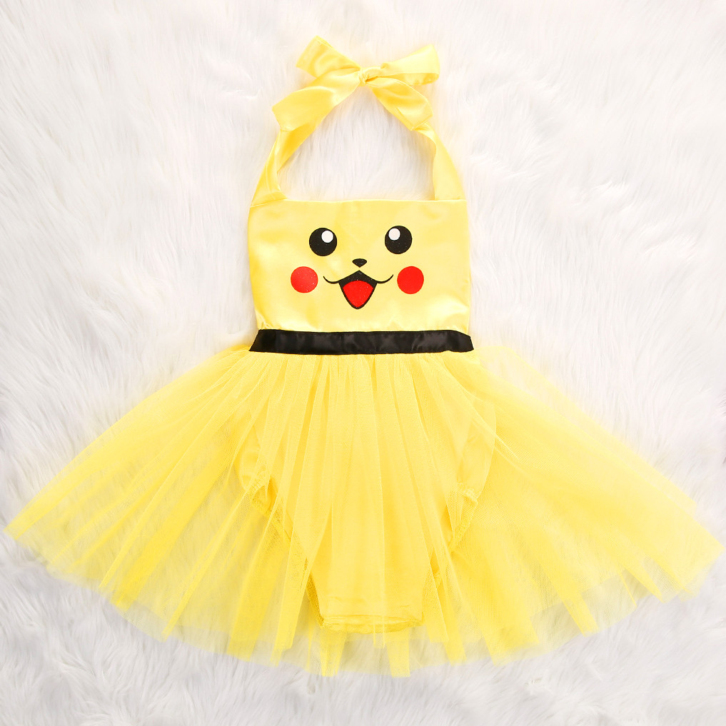 Wholesale Hot Design Toddler Baby Girl Halloween Pikachu Romper ... ef7a14f8139d