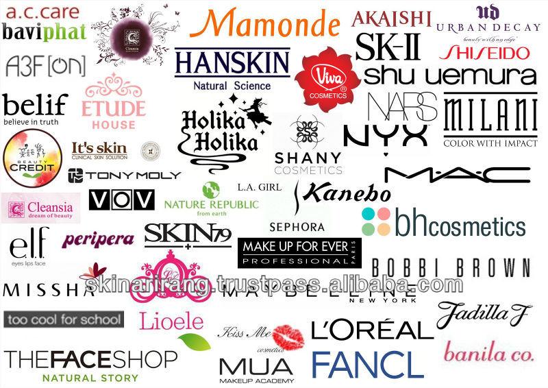 Znalezione obrazy dla zapytania cosmetics brands