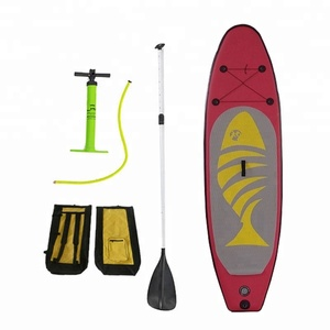 INFLATABLE FISHING STAND UP SUP PADDLE BOARD 11' SURF ISUP CHINA MANUFACTURE FACTORY
