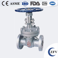 Factory Price ZFV API600, API6D, DIN 3202 Cast & Forged Gate Valve Flanged/SW/NPT/BW Ends Connection