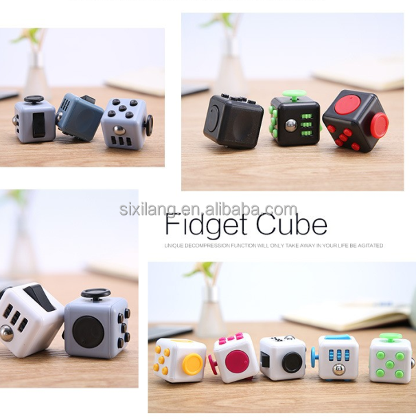 Chinese supplier ABS very cheap price desk toy fidget cube