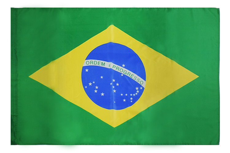 Good standard Professional Vivid color 3x5 feet  National brasil flag