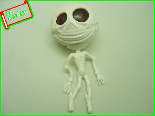plastic stretch human skeleton skull alien egg toy - buy alien egg, Skeleton