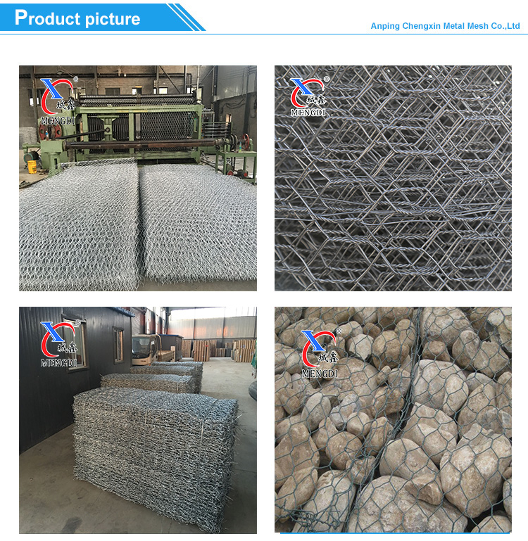 High quality gabion box heavy hexagonal mesh factory