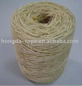 Sisal lashing in nature fibre