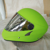 2016 New Design FRP Shell Fashionable Hang Gliding Helmet Green Color