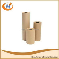 different types sheets or rolls of kraft wrapping paper bleached package paper gift wrapping paper design