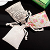 Cheap promotional cotton draw string bags