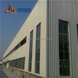 Appealing Design One Storey Transportable low cost modern steel structure workshop