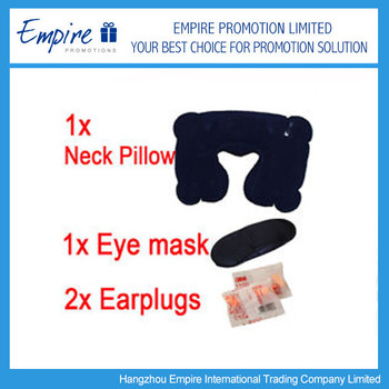 Comfortable Fashionable Inflatable Travel Pillow Sets