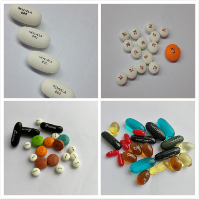 soft capsule and tablets