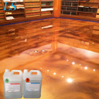 Metallic Epoxy Resin for Floor Coating, Epoxy Basement Floor, Clear Epoxy for Top Coat Epoxy Resin Polished Floor