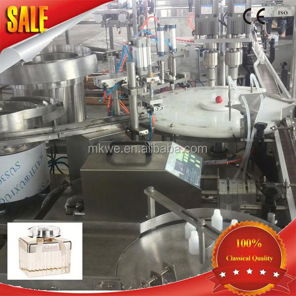 perfume bottle cover filling machine