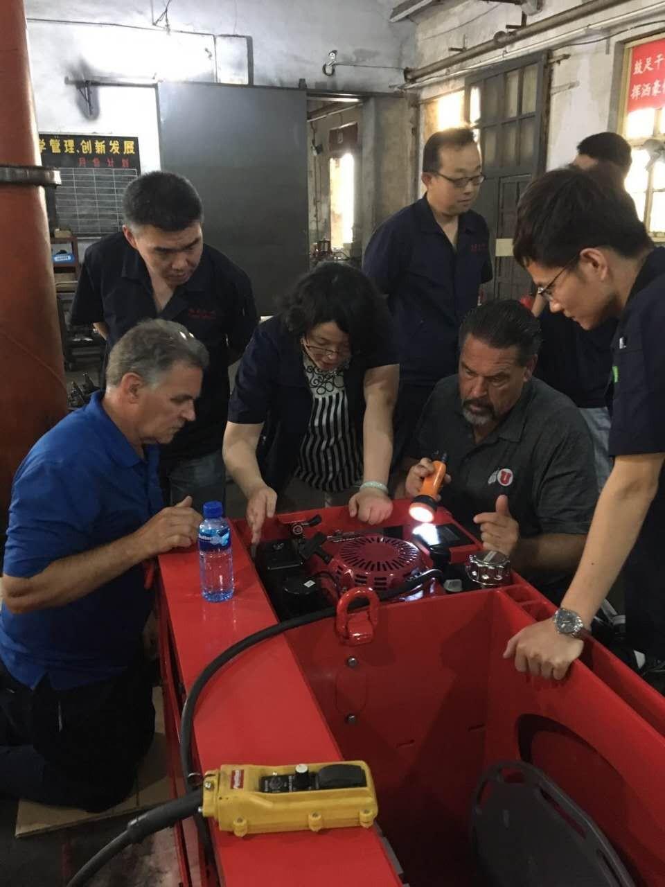 pneumatic hoist customization plan making
