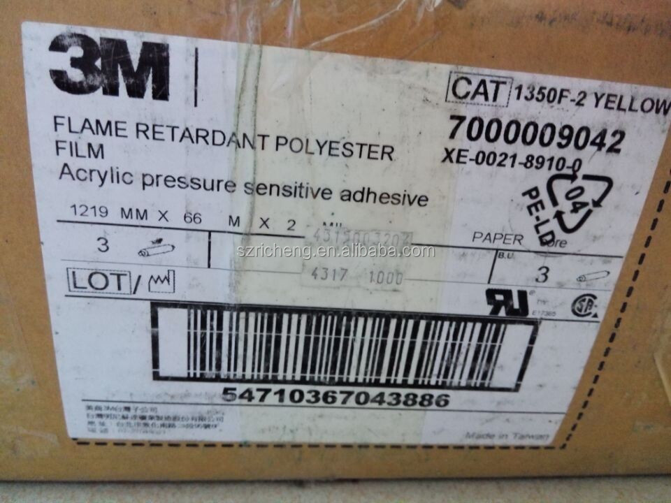 3m 1350f 1 Polyester Film Electrical Tape 3m Mylar Tape