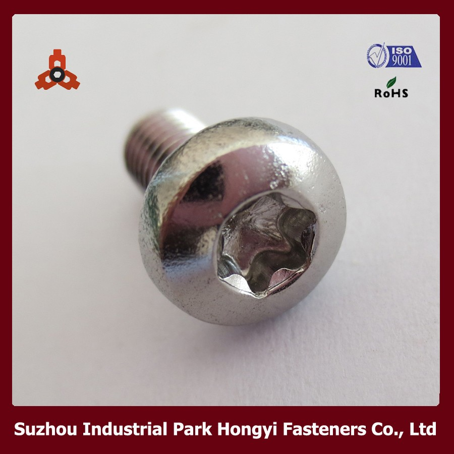 Iso14583 M5,M6,M7,M8 Torx Pan Head Screw M8 Torx Screw