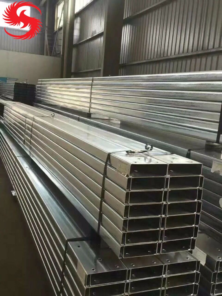 galvanized C channel steel C purlin construction section roof purlin