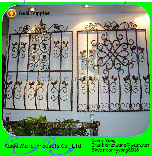 Modern French Steel Window Grill Design
