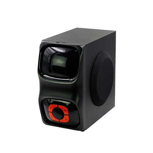 Nirkabel Bluetooth Portable Sepeda Motor Subwoofer 5.1CH Mini Smart Speaker