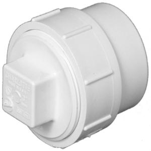 PVC Pipe Schedule 40 Pvc Floor Cleanout Plug Wye With Pointed Threaded Plastic Pipe Fitting End Cap Dimensions For Pvc Pipe