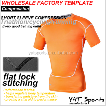 Compression Shirts Base Layer Factory Template Wholesale Mens ...
