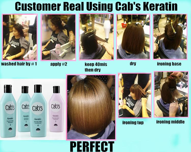 Professional Cabs Keratin Hair Treatment