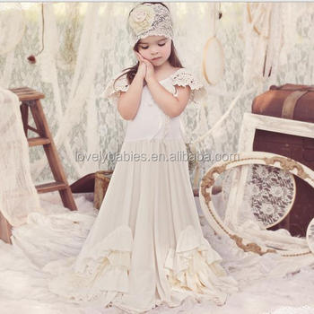 Vintage Lace Flower Girl Dress
