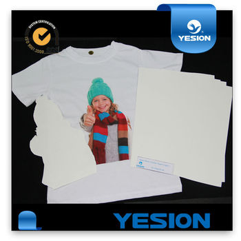 Yesion best quality transfer paper printer iron on transfer printer paper