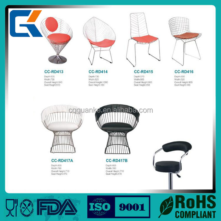 For different shap fashion Stackable Visitor wine bar chairs