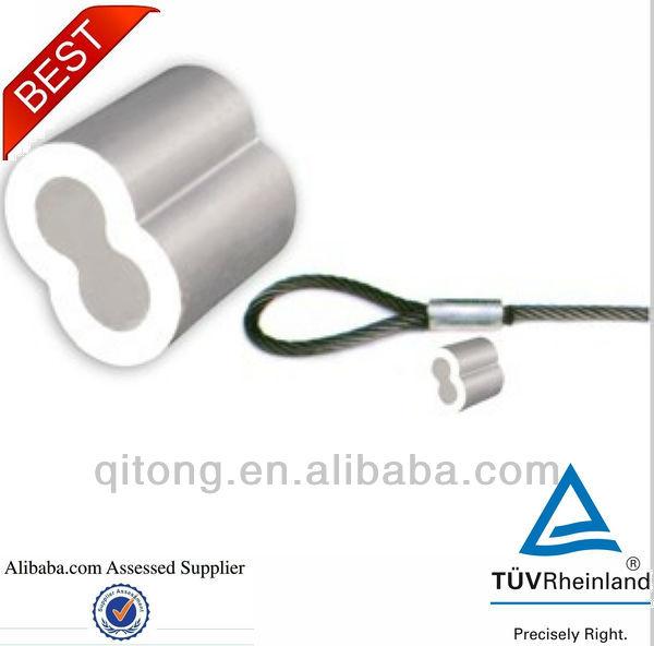 8 Shape Aluminium Wire Rope Sleeves - Buy 8 Shape Sleeves,Steel Wire ...