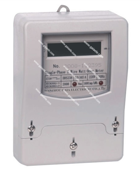 DDS540 Series Single Phase Electric Energy watt hour Meter