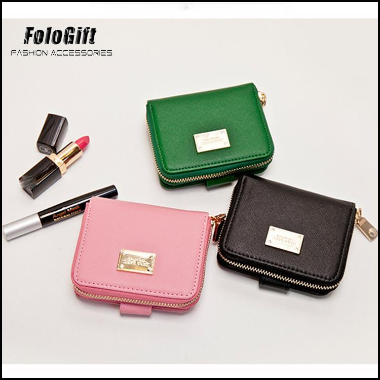 New Party women genuine leather wallet Guangzhou Factory
