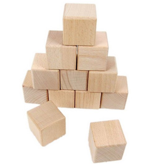 20 pcs lote 4 cm bois cube solides blocs de construction en bois jouets ducatifs pr coce. Black Bedroom Furniture Sets. Home Design Ideas